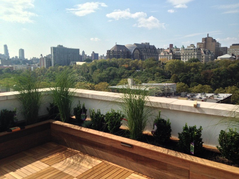 Rooftop garden design nyc brooklyn ny roofscapes for Rooftop landscape design